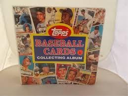 baseball photo album topps baseball cards collecting album album of