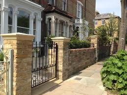 victorian garden walls multi london garden design victorian front company walls red brick
