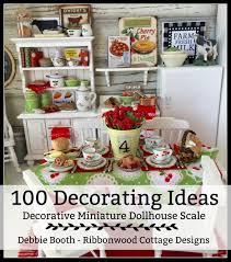 100 Fresh Christmas Decorating Ideas by 100 Decorating Ideas Decorative Miniature Dollhouse Scale Ebook