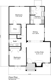 cottage style house plan 2 beds 1 00 baths 982 sq ft plan 43 109