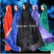 Blue Black Halloween Costumes Cheap Black Witch Cloak Aliexpress Alibaba Group