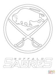 buffalo sabres logo coloring page free printable coloring pages