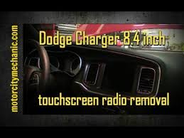 dodge charger touch screen 2015 dodge charger 8 4 inch touchscreen radio removal