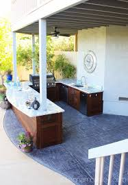 outdoor kitchens pictures outdoor kitchen reveal ask anna