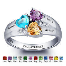mothers infinity ring personalized ring ebay