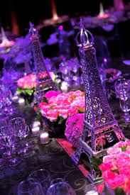 Paris Centerpieces Gaby And The City Sweet Centerpieces