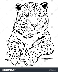 leopard tattoo jaguar tattoo stock vector 495254488 shutterstock