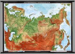 Russia Physical Map Physical Map by Eastern Europe U0026 Northern Asia Physical Former Soviet