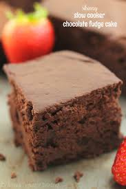 skinny slow cooker chocolate fudge cake recipe easy a healthy