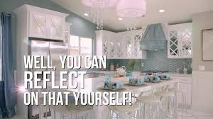 mirrored kitchen cabinets mirrored kitchen cabinets video hgtv