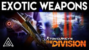 Exotic Color Names by The Division Exotic Weapons Gear U0026 How To Get Them Youtube