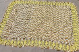 Crochet Table Cloth Vintage Kitchen Tablecloths U0026 Towels