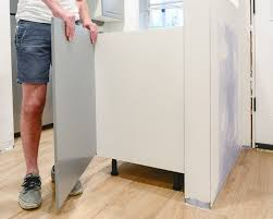 height of ikea base cabinets with legs perfecting the imperfect in our ikea kitchen fillers