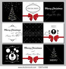 special christmas menu design stock vector 108668054 shutterstock