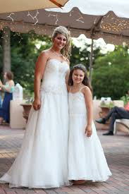 matching wedding dresses wedding dresses with matching flower dress and matching