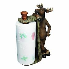 amazon com rivers edge products moose paper towel holder