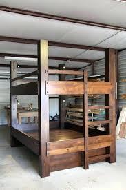 Wood Bunk Bed Plans Loft Bed Plan Wood Bunk Plans Best Size Ideas About With Desk