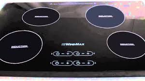 Electric Induction Cooktop Reviews Windmax Induction Hob 4 Burner Stove Cooktops Review Youtube