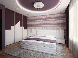 design de chambre à coucher faux plafond moderne dans la chambre à coucher et le salon plafond