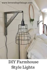 Diy Light Fixtures by Easy And Affordable Diy Industrial Farmhouse Pendant Lights