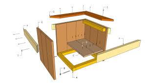 bilderesultat for wooden square box planter plantekasse