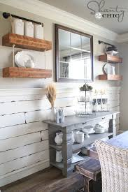 Floating Wood Shelves Diy by And Pipe Floating Shelves Shanty 2 Chic