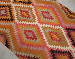 Turkish Kilim Rugs For Sale Vintage Kilim Rug Etsy