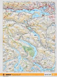 Back Road Maps Vibc16 Topo Sproat Lake