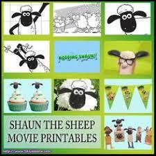 free printable shaun sheep cupcake toppers kids u0027 parties