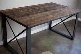 metal dining table is also a kind of modern tables ideas room
