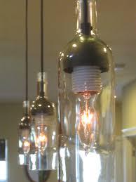 lights made out of wine bottles top 71 superlative turn wine bottle into l light fixtures made