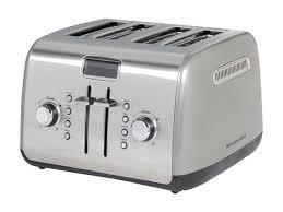 Under Cabinet 4 Slice Toaster Kitchenaid Kmt422cu Toasters Newegg Com