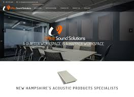 grinley creative designs logo and website for office sound