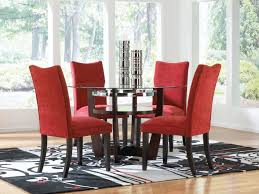 dining room 2 red dining chair ideas red covered dining