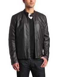 mens black leather motorcycle jacket fashionable mens leather jackets