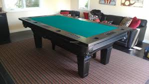 Green Black Dining Room Pool Table Combined Finest Living Room - Combination pool table dining room table