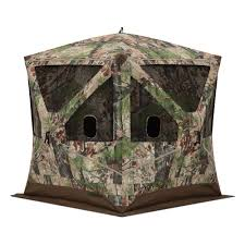 barronett blinds big ox 3 person pop up hunting blind in backwoods