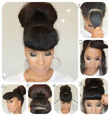 natural hair bun styles with bang 7 natural hair styles bobby pins are good for high bun natural