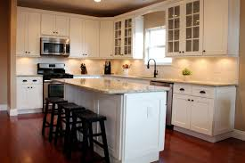 Complete Kitchen Cabinets Ice White Shaker Kitchen