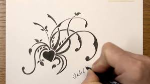 easy floral designs to draw on paper u2013 my site