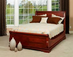bedroom sledge beds sleigh beds wood sleigh bed