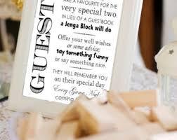 bridal shower sign in book jenga wedding sign building memories jenga guestbook sign