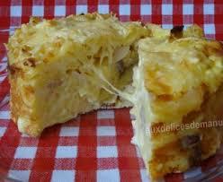 cuisiner des restes gratin de pâtes aux chignons raclette et jambon cuisine des