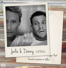 Funny Save The Date Polaroid Wedding Save The Date Cards Http Www Wedfest Co