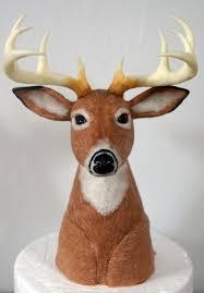 deer cake topper deer cake topper sculpted out of cereal and modeling