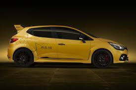 renault sports car renault sport unveils concept car of the most powerful clio r s ever