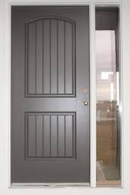 front door and light painted sherwin williams urbane bronze
