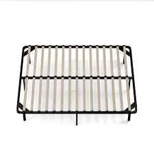 Best Bed Frames Reviews by Amazon Com Handy Living Wood Slat Bed Frame Queen Kitchen U0026 Dining