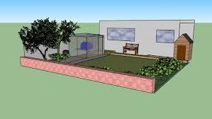 garden layout 3d warehouse