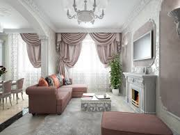 Gray And Burgundy Living Room Real Art Deco Apartment Design In Europe Small Design Ideas